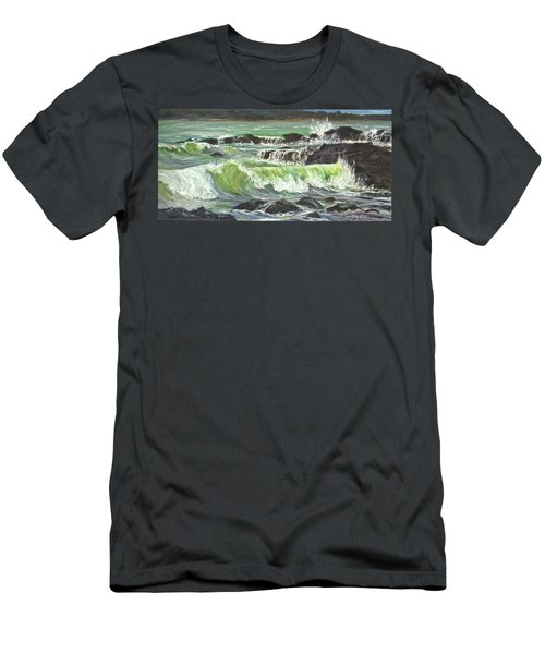 Ocean Emotion Lajolla Cove Men's T-Shirt (Athletic Fit)