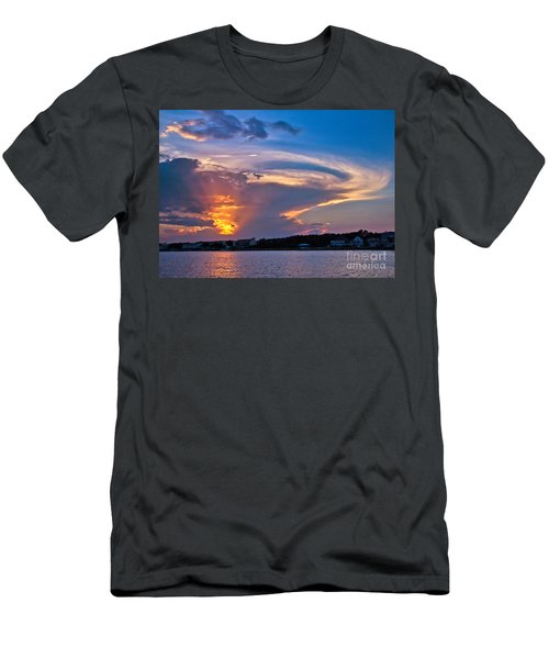 Ocean Isle Sunset Men's T-Shirt (Athletic Fit)