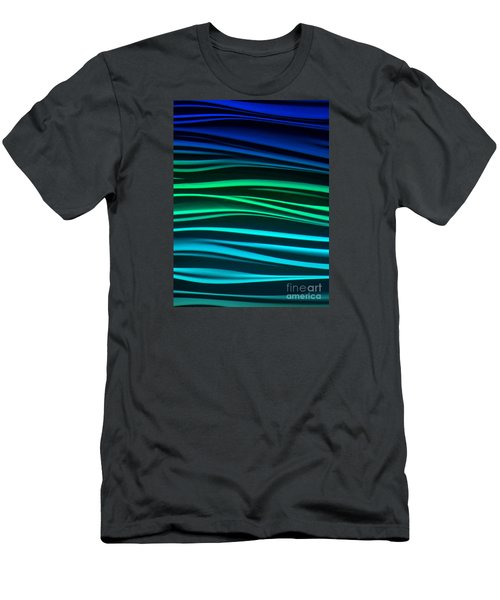 Men's T-Shirt (Slim Fit) featuring the photograph Ocean by Ranjini Kandasamy