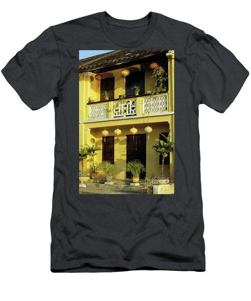 Ochre Building 01 Men's T-Shirt (Athletic Fit)
