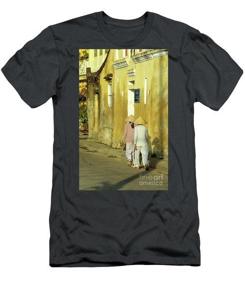 Ochre Wall 02 Men's T-Shirt (Athletic Fit)