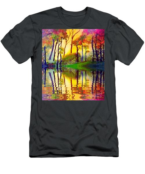 October Surprise Men's T-Shirt (Slim Fit) by Holly Martinson