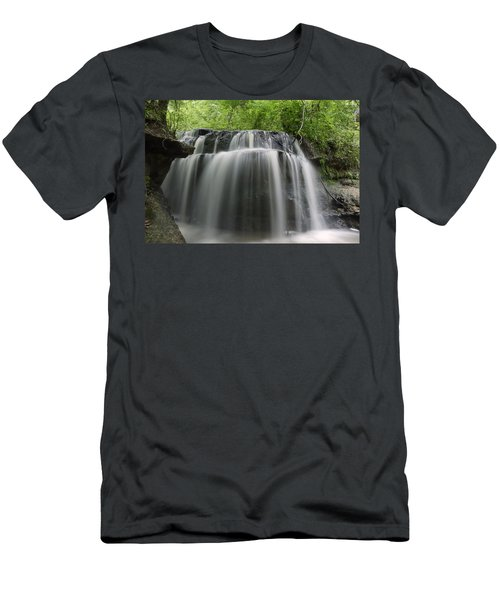 Odom Creek Waterfall Georgia Men's T-Shirt (Athletic Fit)
