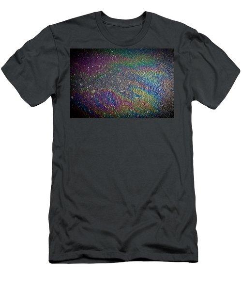 Oil Rainbow Men's T-Shirt (Athletic Fit)