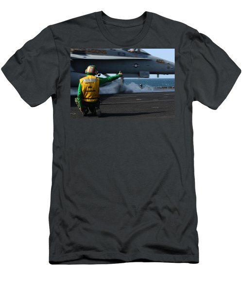 Ok For Takeoff Men's T-Shirt (Athletic Fit)