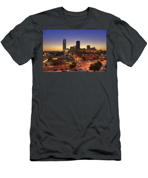 Oklahoma City Nights Men's T-Shirt (Athletic Fit)