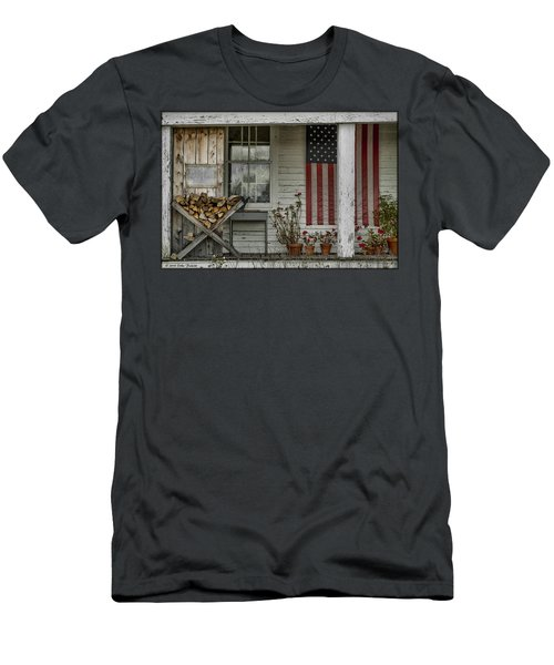 Old Apple Orchard Porch Men's T-Shirt (Athletic Fit)