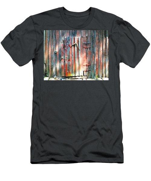 Old Barn Door 2 Men's T-Shirt (Athletic Fit)