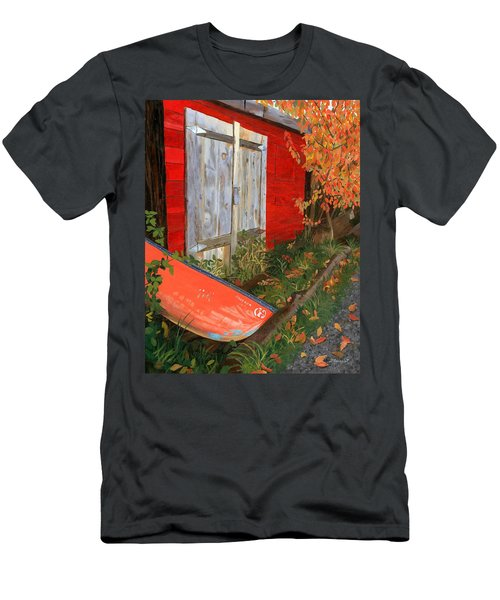 Old Canoe Men's T-Shirt (Athletic Fit)