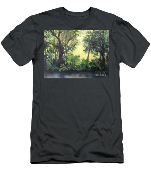 Old Florida 2 Men's T-Shirt (Slim Fit) by Mary Lynne Powers