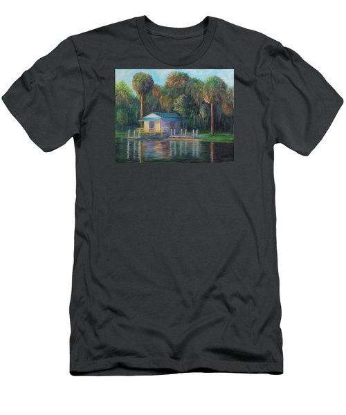 Old Florida Morning At Salt Springs Men's T-Shirt (Athletic Fit)
