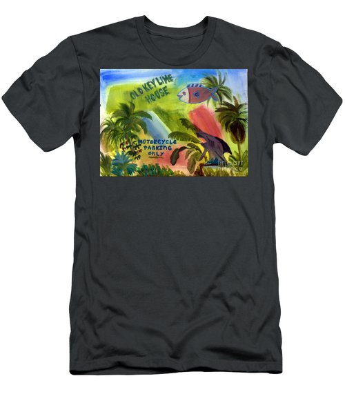 Old Key Lime House Men's T-Shirt (Athletic Fit)
