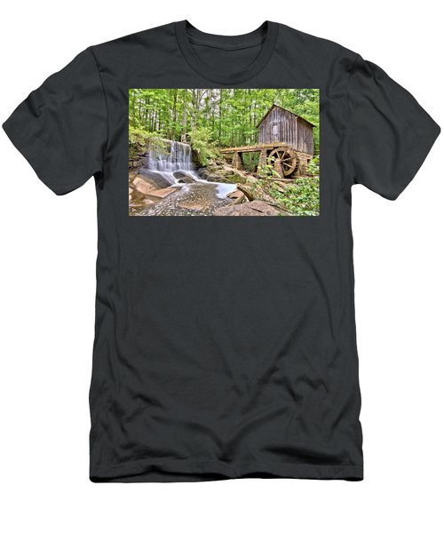 Old Lefler Grist Mill Men's T-Shirt (Athletic Fit)