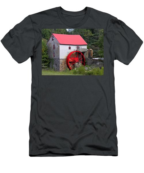 Men's T-Shirt (Slim Fit) featuring the photograph Old Mill Of Guilford by Sandi OReilly