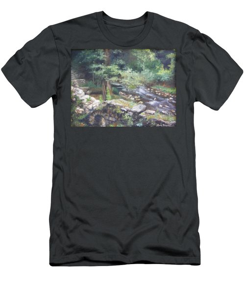 Old Mill Steam II Men's T-Shirt (Athletic Fit)