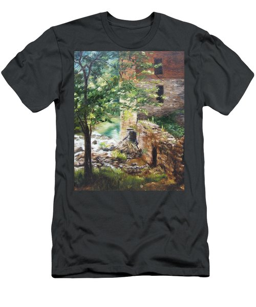Old Mill Stream I Men's T-Shirt (Athletic Fit)