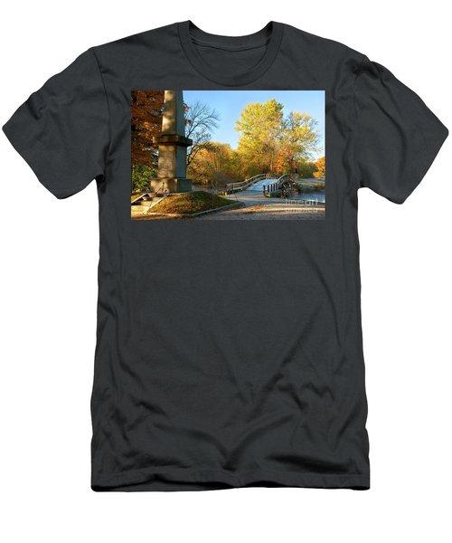 Old North Bridge Men's T-Shirt (Athletic Fit)