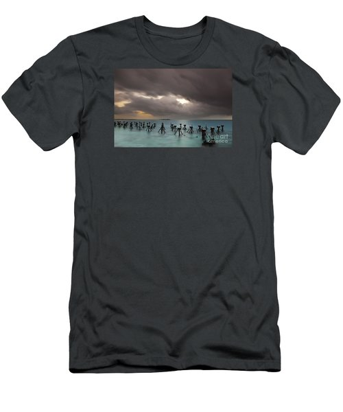 Old Pier In The Florida Keys Men's T-Shirt (Athletic Fit)