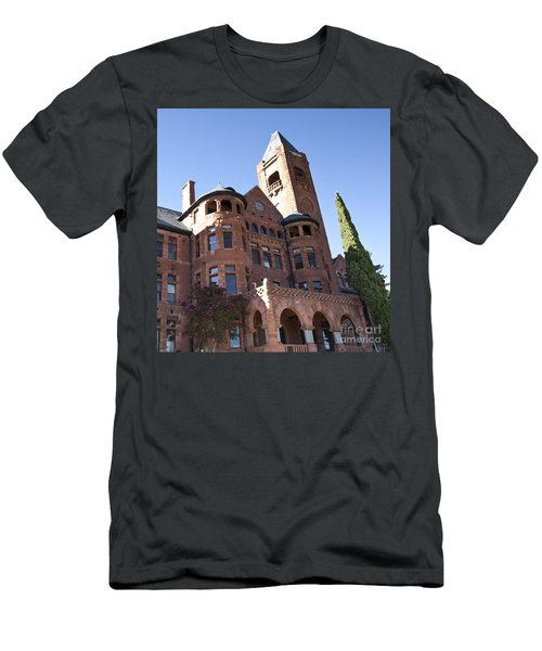 Men's T-Shirt (Slim Fit) featuring the photograph Old Preston Castle by David Millenheft