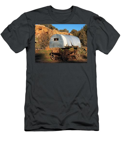 Old Sheepherder's Wagon Men's T-Shirt (Athletic Fit)
