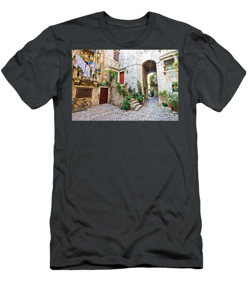 Old Stone Street Of Trogir Men's T-Shirt (Athletic Fit)