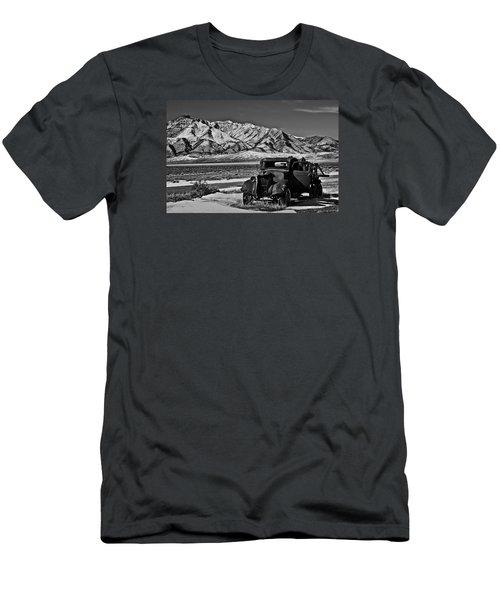 Old Truck Men's T-Shirt (Slim Fit) by Robert Bales
