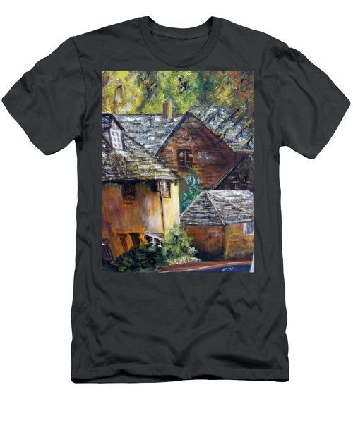 Old Village Men's T-Shirt (Athletic Fit)