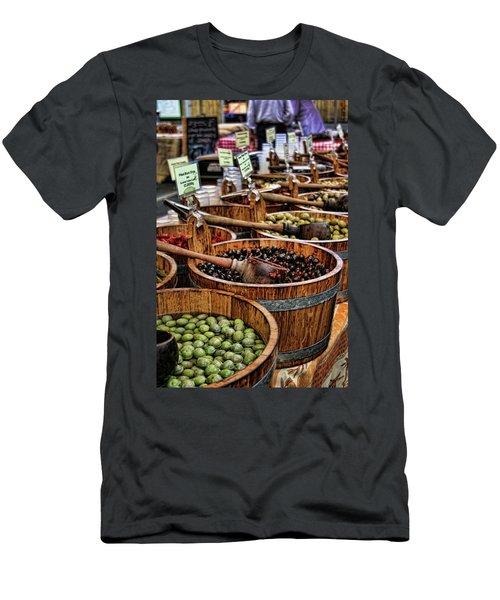 Olives Men's T-Shirt (Athletic Fit)