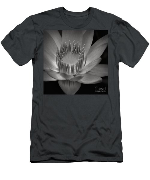 Om Mani Padme Hum Hail To The Jewel In The Lotus Men's T-Shirt (Slim Fit) by Sharon Mau