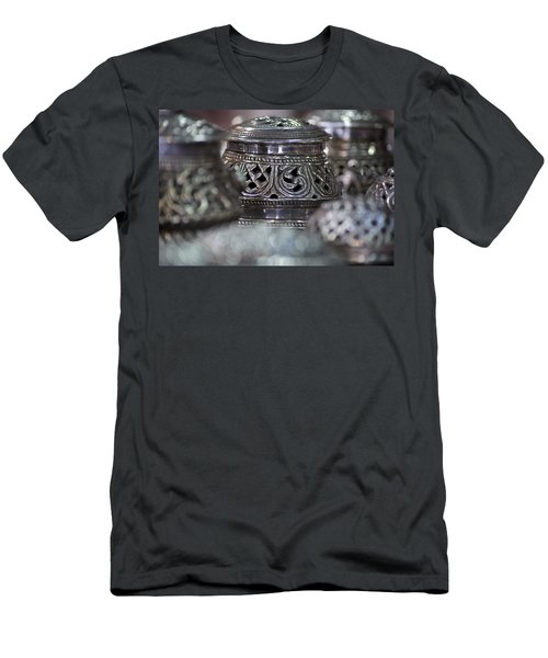 Omani Silver Men's T-Shirt (Athletic Fit)