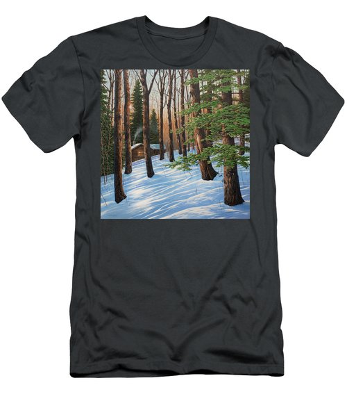 On A Winter's Morn Men's T-Shirt (Athletic Fit)