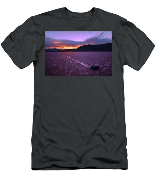 On The Playa Men's T-Shirt (Slim Fit) by Chad Dutson