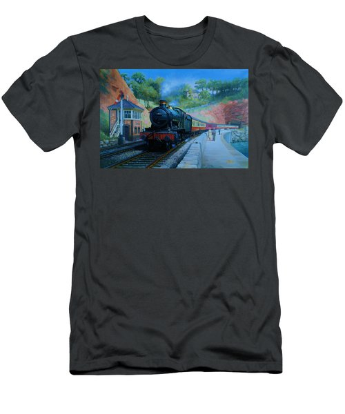 On The Sea Wall. Men's T-Shirt (Athletic Fit)