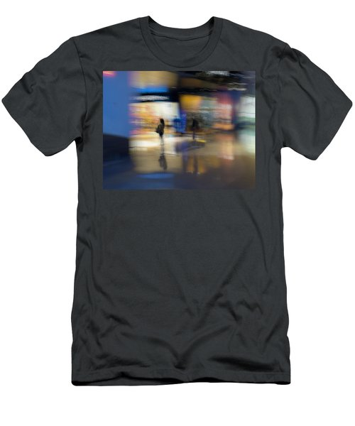 Men's T-Shirt (Slim Fit) featuring the photograph On The Threshold by Alex Lapidus