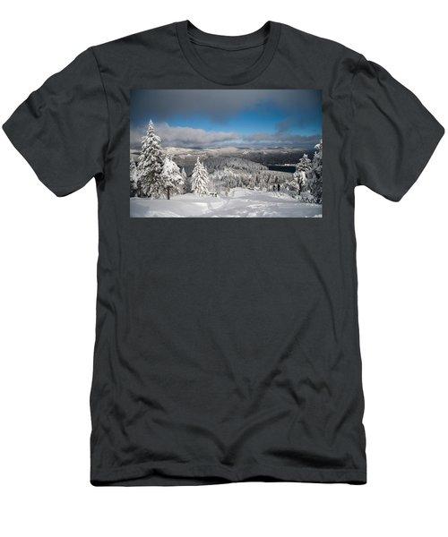 on the Wurmberg II Men's T-Shirt (Athletic Fit)
