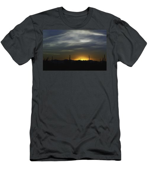 Men's T-Shirt (Slim Fit) featuring the photograph Once Upon A Time In Mexico by Lynn Geoffroy