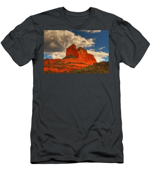 One Sedona Sunset Men's T-Shirt (Athletic Fit)