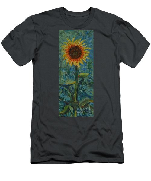 One Sunflower - Sold Men's T-Shirt (Athletic Fit)