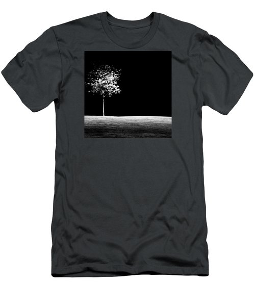 Men's T-Shirt (Slim Fit) featuring the photograph One Tree Hill by Darryl Dalton