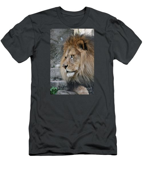 Men's T-Shirt (Slim Fit) featuring the photograph Onyo #11 by Judy Whitton