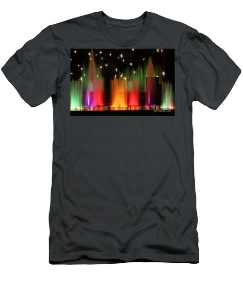 Open Air Theatre Rainbow Fountain Men's T-Shirt (Athletic Fit)