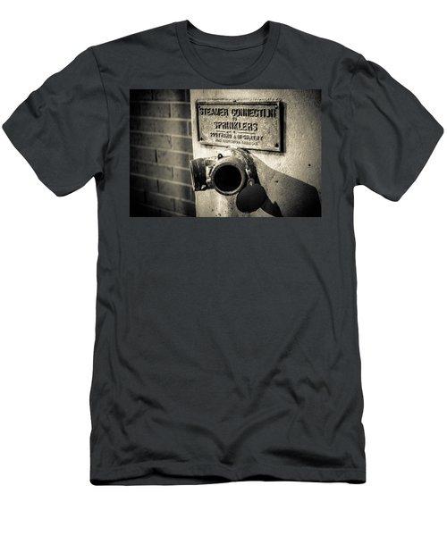 Open Sprinkler Men's T-Shirt (Slim Fit) by Melinda Ledsome