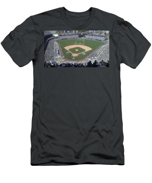 Opening Day Upper Deck Men's T-Shirt (Slim Fit) by Chris Tarpening