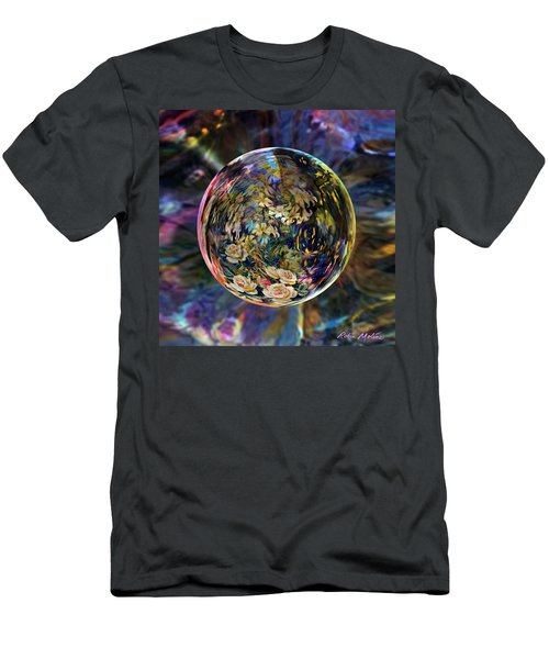 Orb Of Roses Past Men's T-Shirt (Athletic Fit)