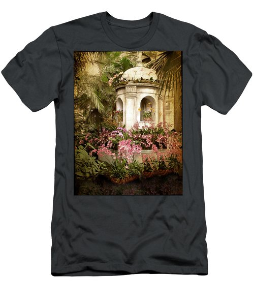 Orchid Exhibition Men's T-Shirt (Athletic Fit)