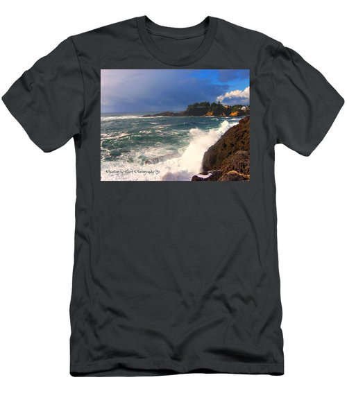 Oregon Coast 9 Men's T-Shirt (Athletic Fit)
