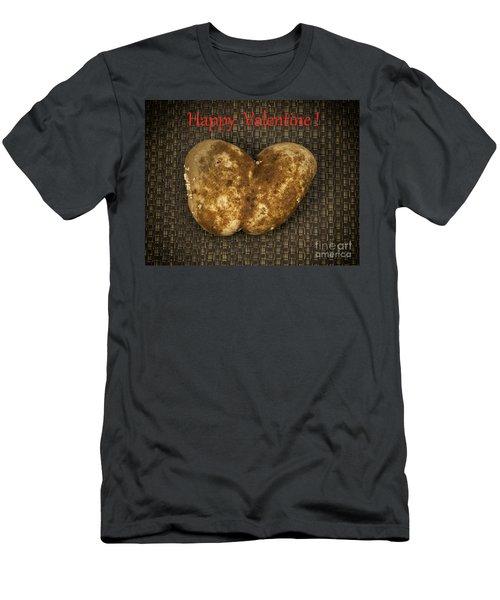 Organic Valentine Men's T-Shirt (Athletic Fit)
