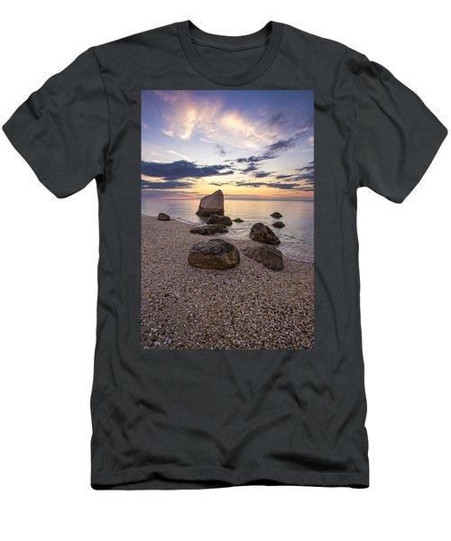 Orient Point Calm Men's T-Shirt (Athletic Fit)