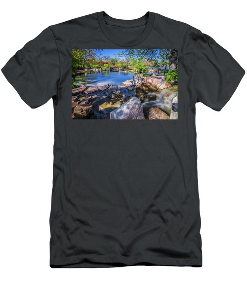 Osaka Japanese Garden Men's T-Shirt (Athletic Fit)