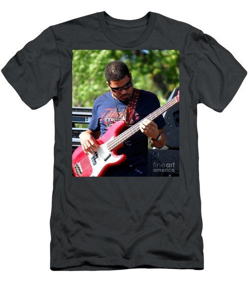 Oteil Burbridge Men's T-Shirt (Slim Fit) by Angela Murray